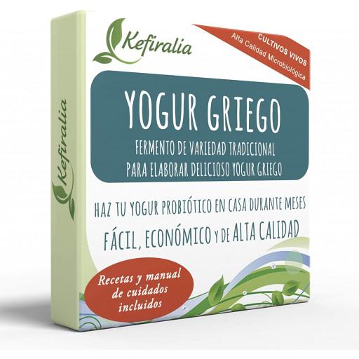 Yogur Griego, Fermento Tradicional