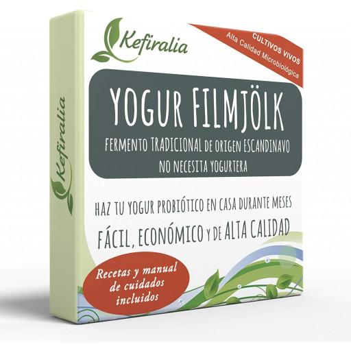 Yogur Filmjolk, Fermento Tradicional